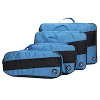 Provisorische Bilder Packing Cubes Blau